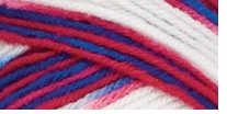 Red Heart Super Saver Yarn Stars & Stripes Multicolor