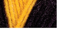 Red Heart Team Spirit Yarn Gold, Black