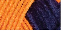 Red Heart Team Spirit Yarn Orange, Navy