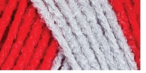 Red Heart Team Spirit Yarn Red, Grey