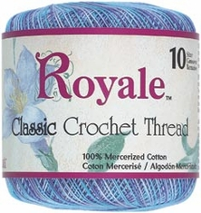 Royale Classic Crochet Cotton Thread - Click to enlarge