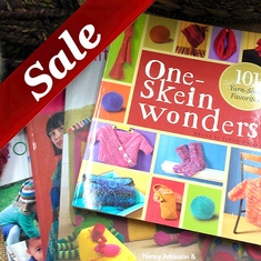 Sale Knitting Books Sale Crochet Books - Click to enlarge