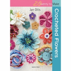 Search Press Books 20 To Make Crocheted Flowers - Click to enlarge