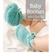 Search Press Books Baby Booties & Socks