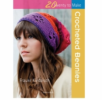 Search Press Books Crocheted Beanies (20 To Make)