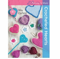 Search Press Books Crocheted Hearts (20 To Make)