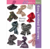 Search Press Books Easy Knitted Scarves (20 To Make)