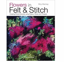 Search Press Books Flowers In Felt & Stitch