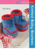 Search Press Books Knitted Baby Bootees 20 To Make