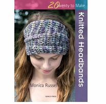 Search Press Books Knitted Headbands (20 To Make)