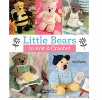 Search Press Books Little Bears To Knit & Crochet