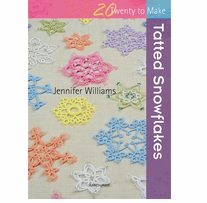 Search Press Books Tatted Snowflakes (20 To Make)