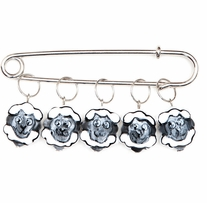 Sheep Stitch Markers Sizes 0 To 10 5/pkg