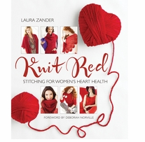 Sixth & Springs Books Knit Red For Women's Heart Health