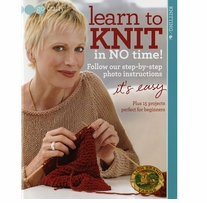 Soho Publishing Learn To Knit In No Time!