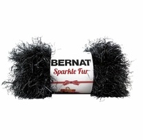 Bernat� Sparkle Fur� Holiday Yarn