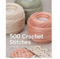 St. Martin's Books 500 Crochet Stitches