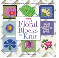 St. Martin's Books 75 Floral Blocks To Knit