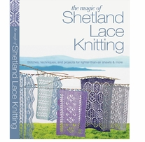 St. Martin's Books The Magic Of Shetland Lace Knitting