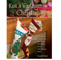 Stackpole Books Knit A Vintage Christmas