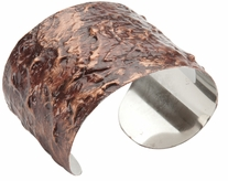 Stainless Steel Cuff Bracelet Copper