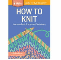 Storey Publishing How To Knit