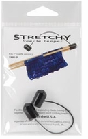 Stretchy Needle Keeper For 7in Double Point Needles Black