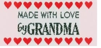 Sweetheart Labels Made With Love By Grandma