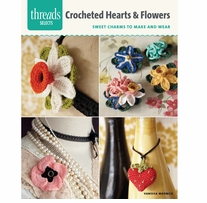 Taunton Press Crocheted Hearts & Flowers