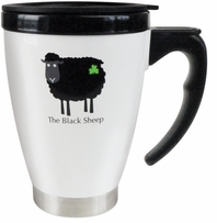 The Black Sheep Travel Mug