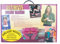 The Ultimate Sweater Machine Deluxe - Knitting Machine