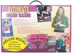 The Ultimate Sweater Machine Deluxe - Knitting Machine - Click to enlarge