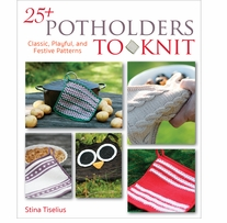 Trafalgar Square Books 25 Potholders To Knit