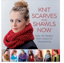 Trafalgar Square Books Knit Scarves And Shawls Now