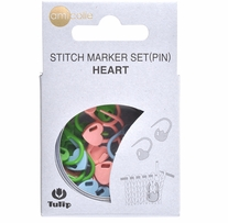 Tulip Stitch Marker Set 15/pkg Heart