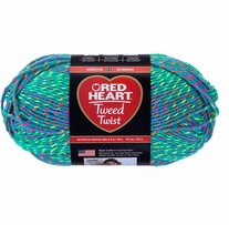 Red Heart� Tweed Twist Neon Yarn