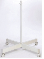 Ultra Slim 4 Spoke Floorstand White