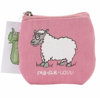 Vanessa Bee Coin Purse Fab-Ewe-Lous