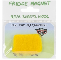 Vanessa Bee Woolly Fridge Magnet Ewe Are My Sunshine