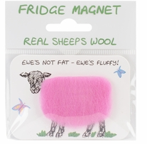 Vanessa Bee Woolly Fridge Magnet Ewes Not Fat Ewes Fluffy