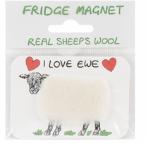 Vanessa Bee Woolly Fridge Magnet I Love Ewe