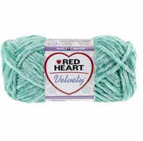 Red Heart Velvety Yarn