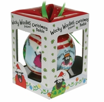 Wacky Woolies Christmas Ornament