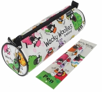 Wacky Woollies Pencil Case W/Pen