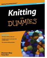 Wiley Publishers Knitting For Dummies 2nd Edition