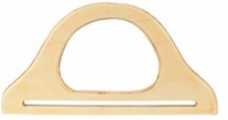 Wood Purse Handle 9-3/4in Natural