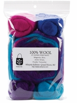 Wool Roving 12 .25oz Jester