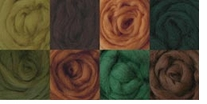 Wool Roving 12in .22 Ounce 8/Pkg Woodsy