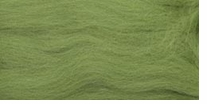 Wool Roving 12in .22 Ounce Green Apple