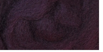 Wool Roving 12in .22oz Boysenberry